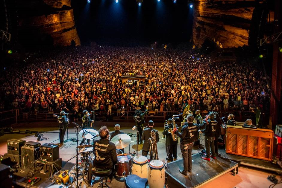 Rateliff headlined at Red Rocks Amphitheater