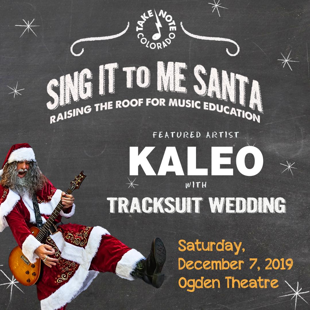 Sing It to Me Santa